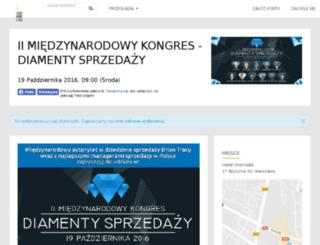 diamentysprzedazy.evenea.pl screenshot