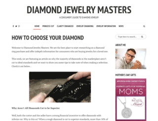 diamond-jewelry-masters.com screenshot