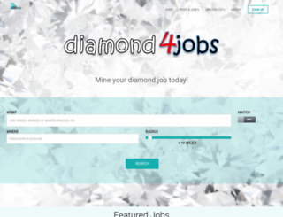 diamond4jobs.com screenshot