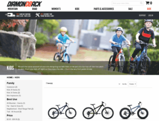 diamondbackbmx.com screenshot