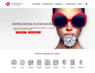 diamondexchange.ca screenshot