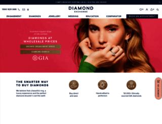diamondexchange.com.au screenshot