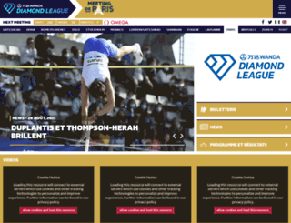 diamondleague-paris.com screenshot