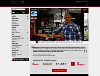 diamondlifegear.com screenshot