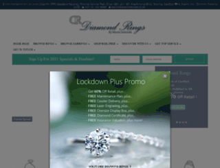 diamondrings.co.za screenshot