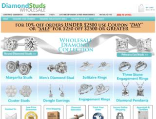 diamondstudswholesale.com screenshot
