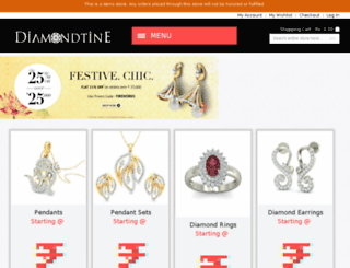 diamondtine.com screenshot