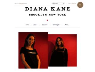 dianakane.myshopify.com screenshot