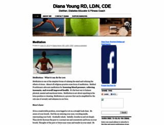 dianayoungrd.wordpress.com screenshot