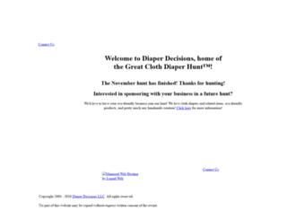 diaperdecisions.com screenshot