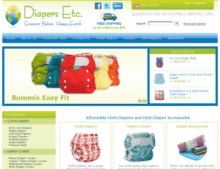 diapersetc.com screenshot