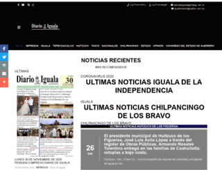 diariodeiguala.com.mx screenshot