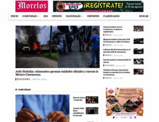 diariodemorelos.com screenshot