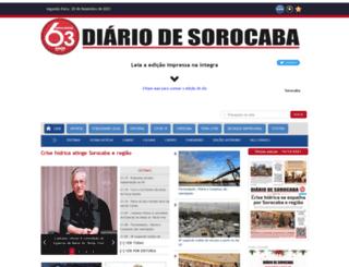 diariodesorocaba.com.br screenshot