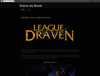 diariodonoob.blogspot.com.br screenshot