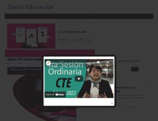 diarioeducacion.com screenshot