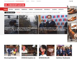 diarioelobservador.cl screenshot