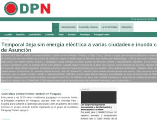 diarioparaguayo.com screenshot
