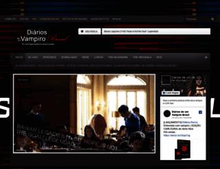 diariosdeumvampirobr.com screenshot