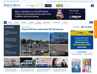 diarioweb.com.br screenshot