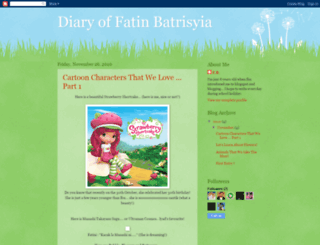 diarybatrisyia.blogspot.com screenshot