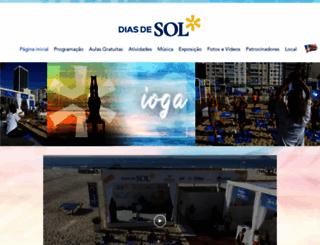 diasdesol.com.br screenshot