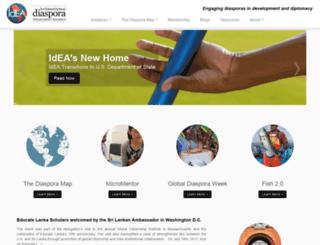 diasporaalliance.org screenshot
