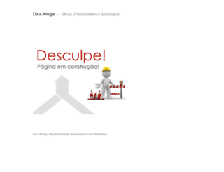 dicaamiga.com.br screenshot
