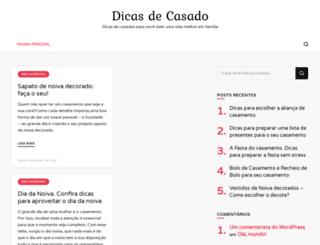 dicasdecasado.com.br screenshot