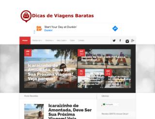 dicasdeviagensbaratas.com.br screenshot
