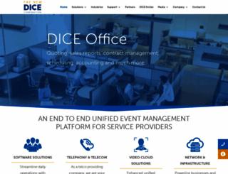 dicecorp.com screenshot