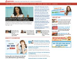 dichvudidong.vienthong.com.vn screenshot