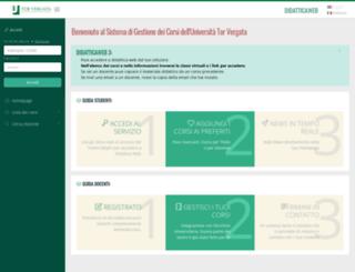 didattica.uniroma2.it screenshot