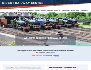 didcotrailwaycentre.org.uk screenshot