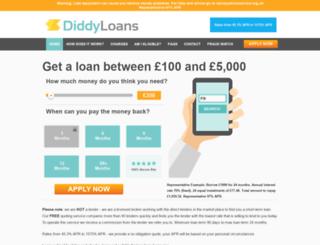 diddyloans.co.uk screenshot