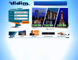 didimseyahat.com.tr screenshot