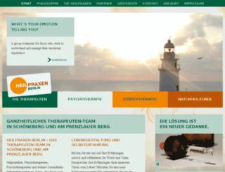 die-therapeuten-berlin.com screenshot