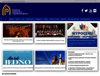 diecezja.tarnow.pl screenshot