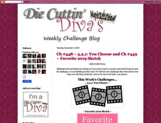 diecuttindivas.blogspot.co.uk screenshot