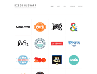 diegoguevara.com screenshot