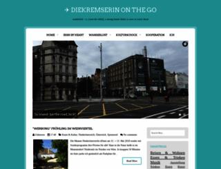 diekremserin.blogspot.co.at screenshot