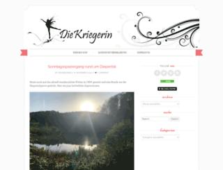 diekriegerin.com screenshot