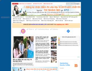 diemthilop10.com screenshot