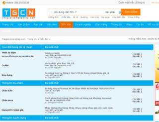 diendan.thegioicongnghiep.com screenshot