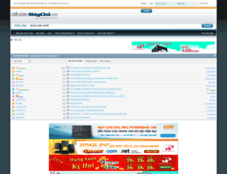 diendanmaychu.vn screenshot