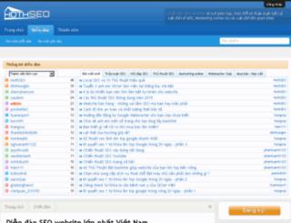 diendanseo.website screenshot