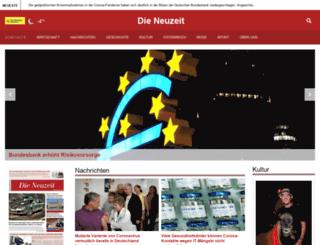 dieneuzeit.com screenshot