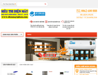 dienmaytphcm.com screenshot