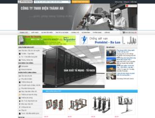 dienthanhan.com screenshot