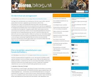 dieren.blog.nl screenshot